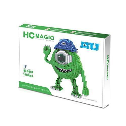 HC Magic 9058 Monsters Inc Mike Wazowski