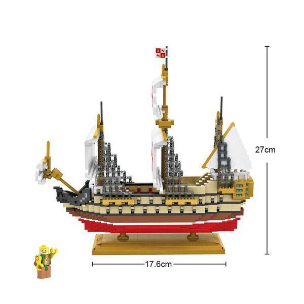 LOZ 9048 Ships Santa Maria
