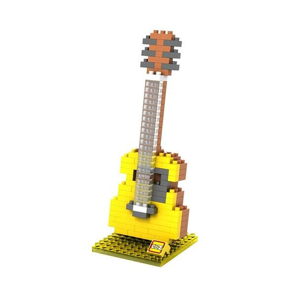 LOZ Acoustic Yellow Guitar