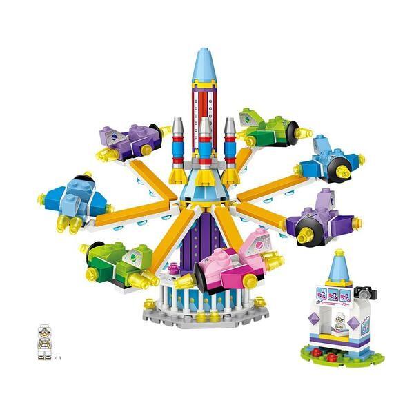 LOZ 1719 Amusement Park Rocket Ride