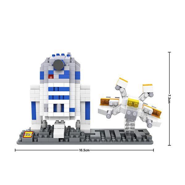 LOZ 9528 Star Wars R2D2