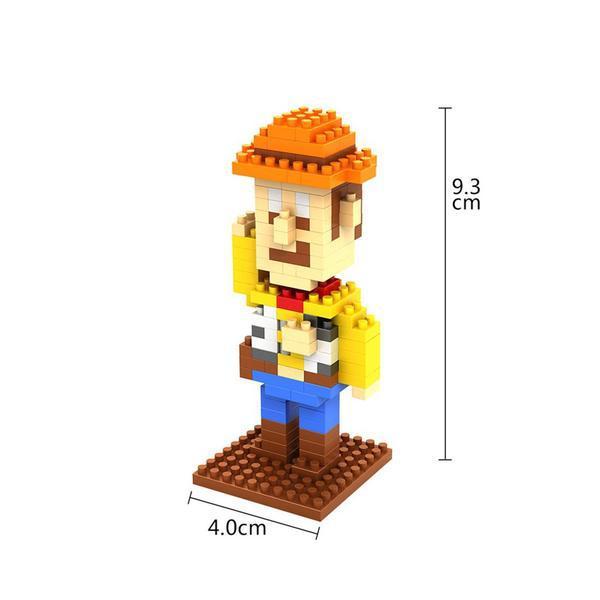 LOZ 9128 Toy Story Woody