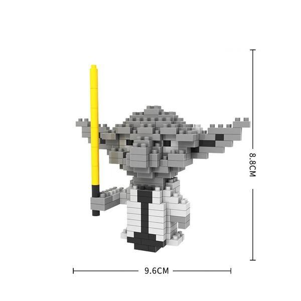 LOZ 9336 Star Wars Classic Yoda