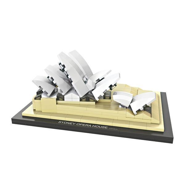 LOZ Architecture Diamond Blocks 1