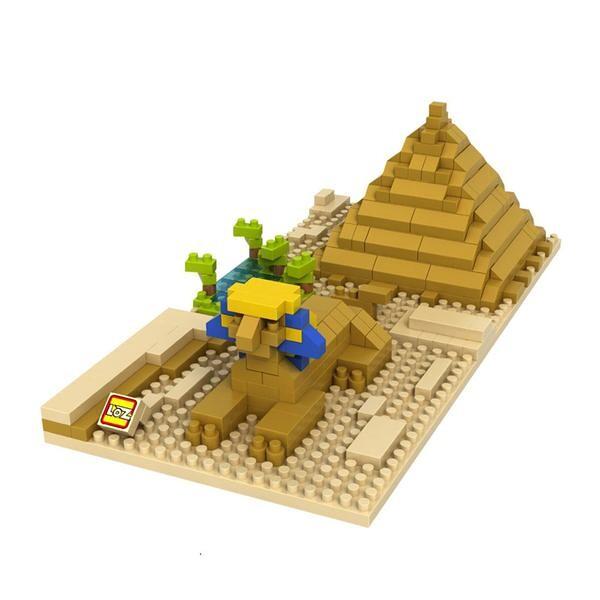 LOZ Architecture Diamond Blocks great sphinx of giza