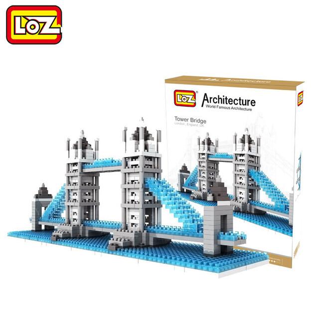 LOZ Architecture Tower Bridge Review