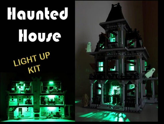 Basic Version LED Light Kit For LEGO 10228 City Monster Fighter Haunted House and 16007 (Only Light Set)Kits