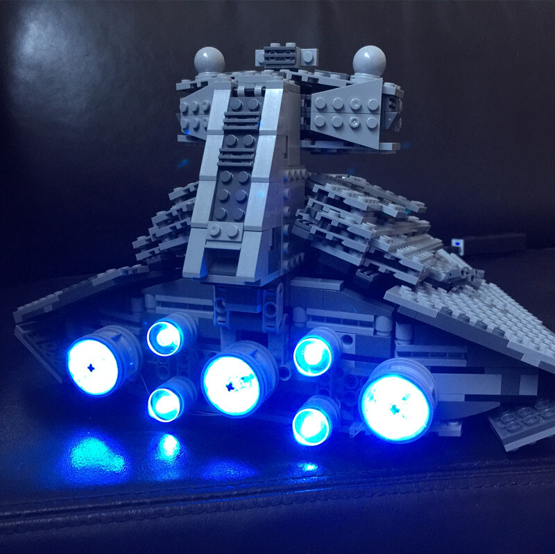 Basic Version LED Light Kit For LEGO 75055 The Imperial Super Star Destroyer Compatible With LEPIN 05062 ( Bricks Set not included) (Only Light Set)Kits