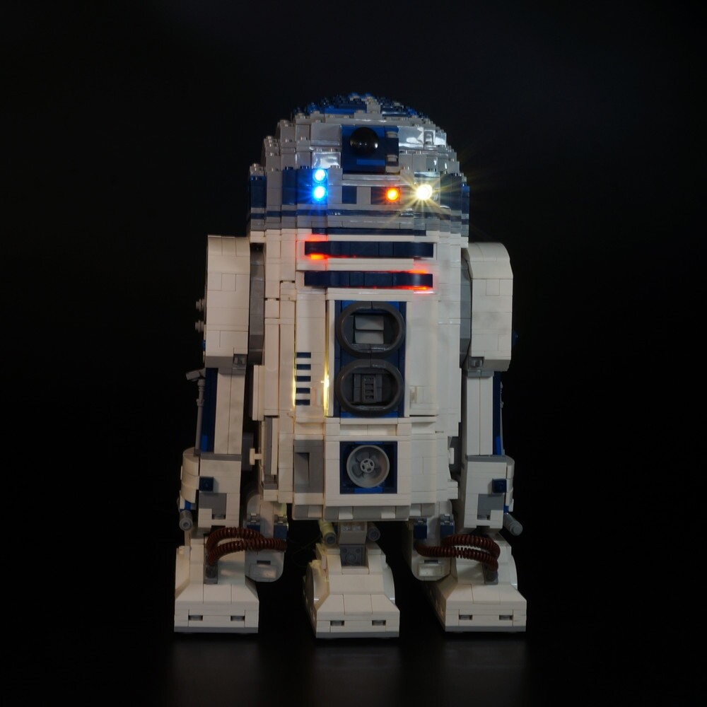 Basic Version Advanced version LED Light Set For LEGO 10225 Star Wars r2d2 Robot Starfighter (Only Light Set)Kits