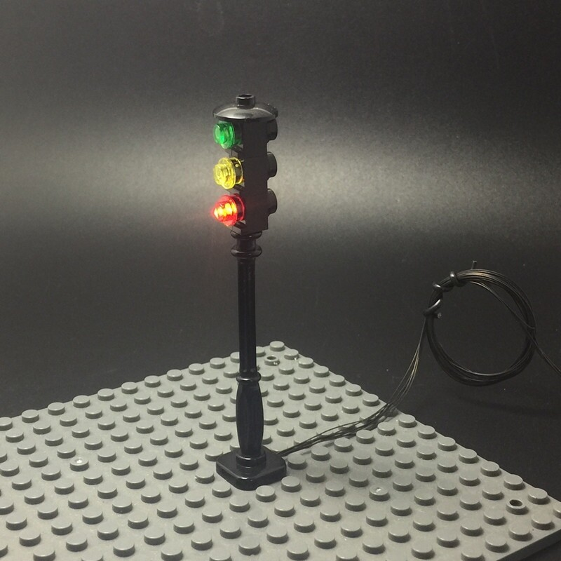 Basic Version LED Light For LEGO city series (Only Light Set)Kits