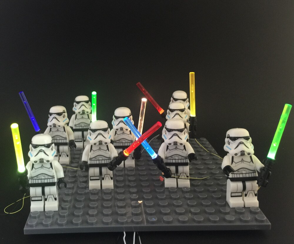 Basic Version 1pcs LED Light For LEGO figure Toys For Star Wars The Force Awakens Nano (Only Light Set)Kits