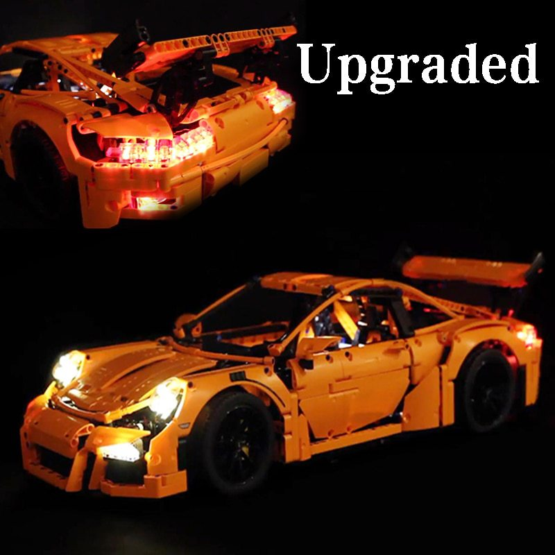Luxury VersionLED Light Set For LEGO 42056 Porsche 911 GT3 RS Compatible LEPIN 20001Kits