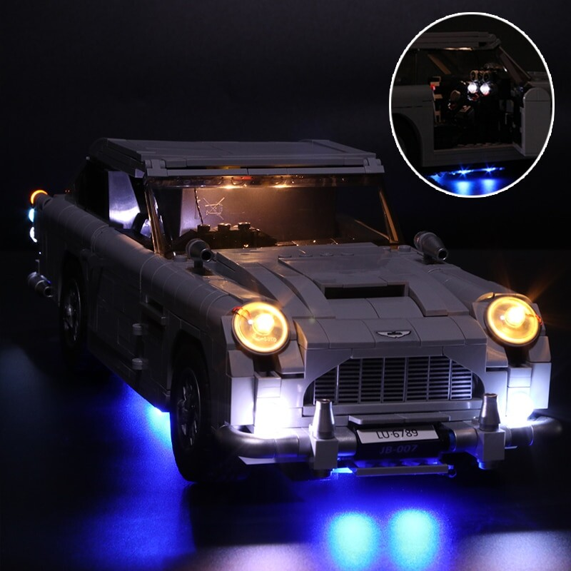 Luxury VersionLED Light Set For LEGO 10262 James Bond Aston Martin DB5 Compatible LEPIN 21046Kits