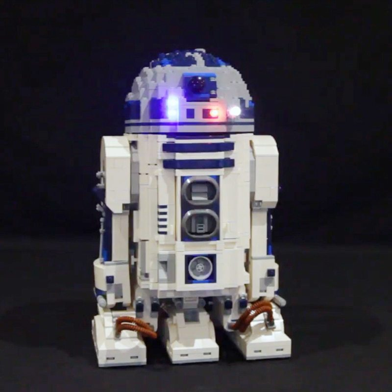 Luxury VersionLED Light Set For LEGO 10225 Star Wars R2-D2 Compatible LEPIN 05043 (LED Light+Battery box)Kits