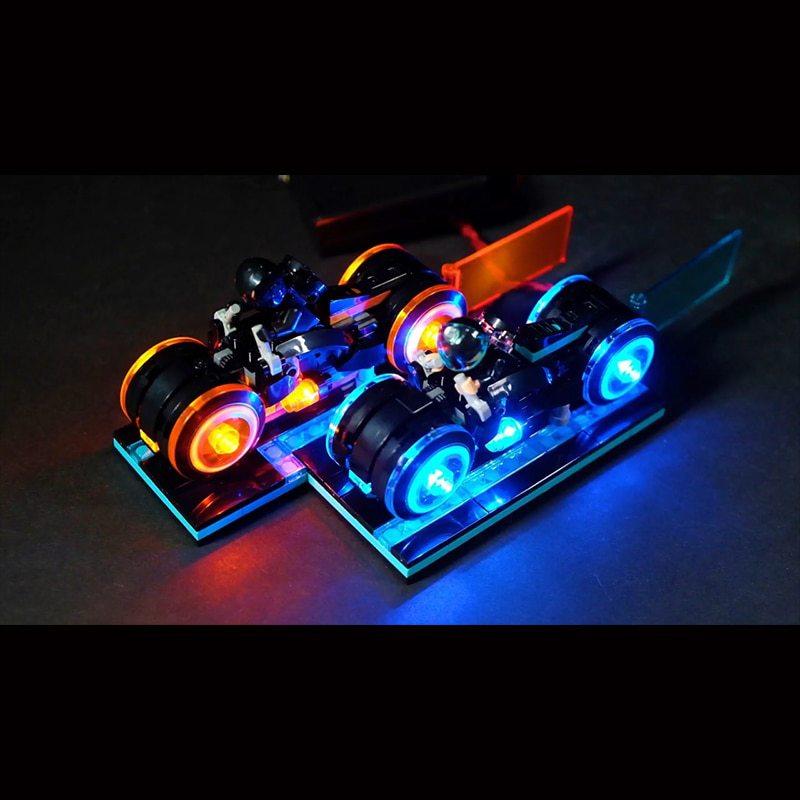 Luxury VersionLED Light Set For LEGO 21314 TRON: Legacy (LED Light+Battery box)Kits