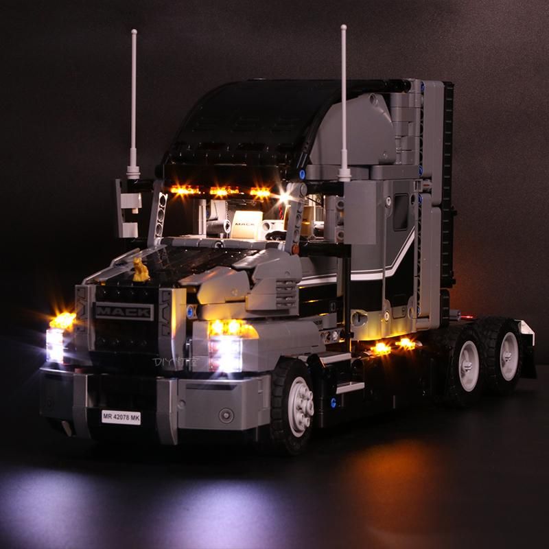 Luxury VersionLED Light Set For LEGO 42078 Mack Anthem Compatible LEPIN 20076Kits