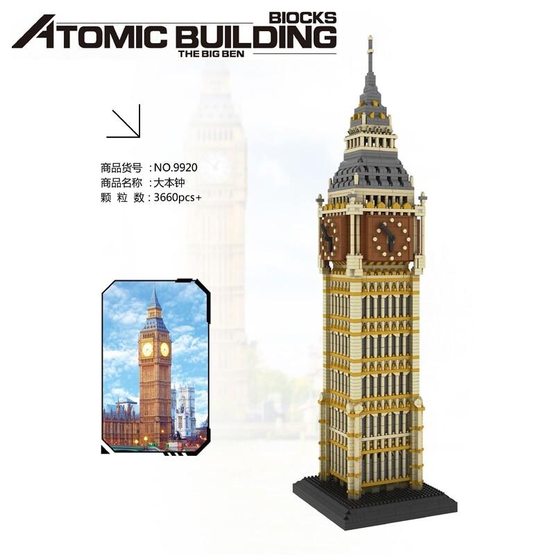 PZX 9920 Large Big Ben Tower