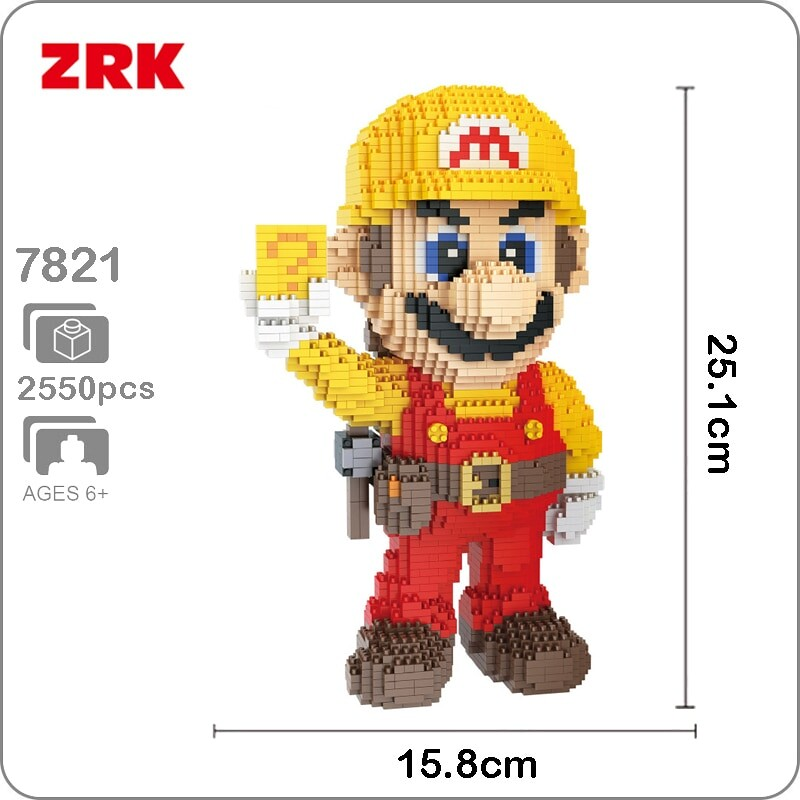 ZRK 7821 Large Yellow Super Mario