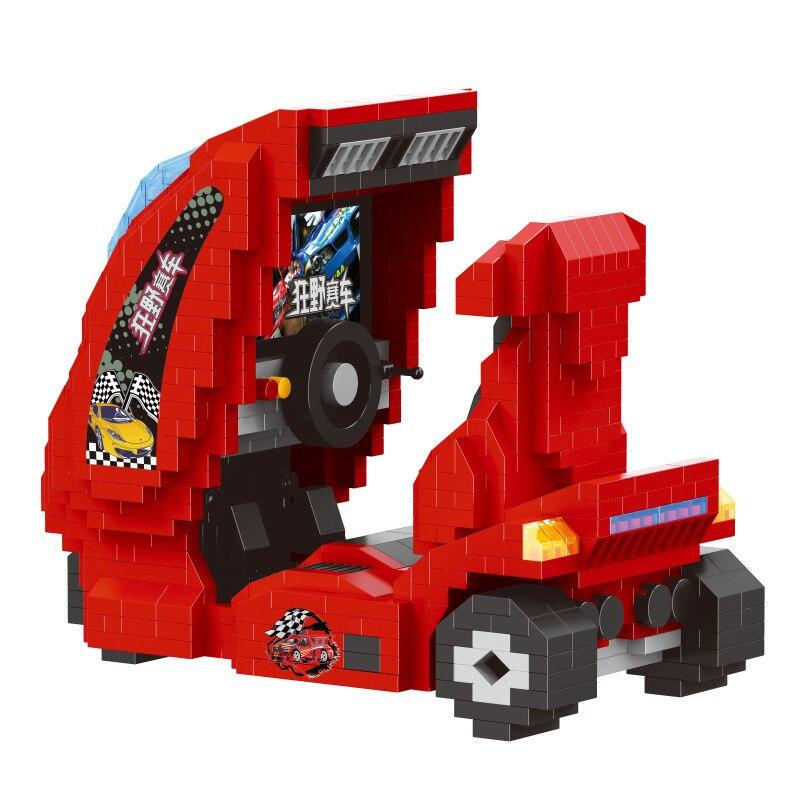 ZRK 7815 Mini Red Motorcycle Machine