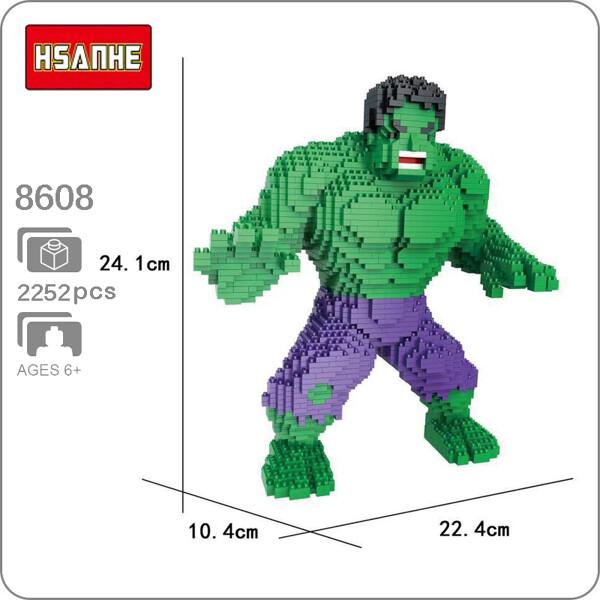 Balody 8608 Green Hulk XL