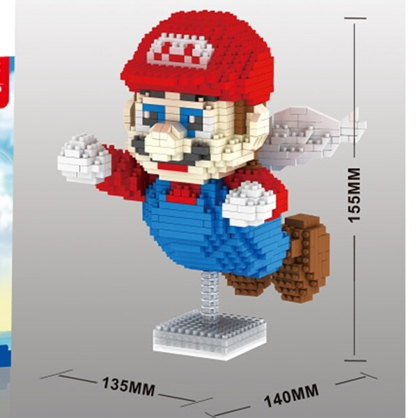 Balody 66529 Large Flying Super Mario