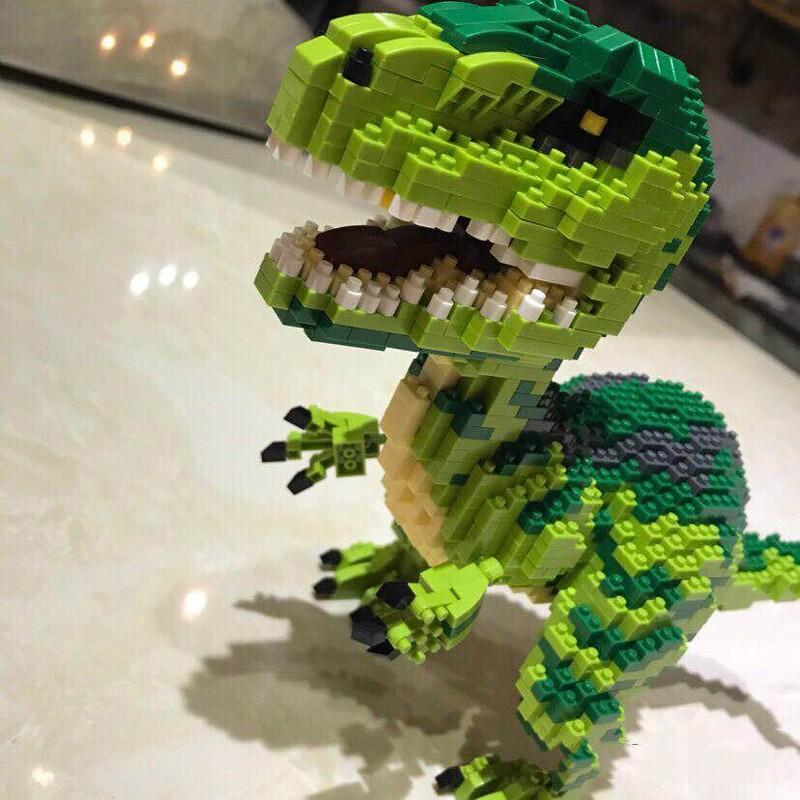 Balody 16089 Giant Green T-rex Dinosaur