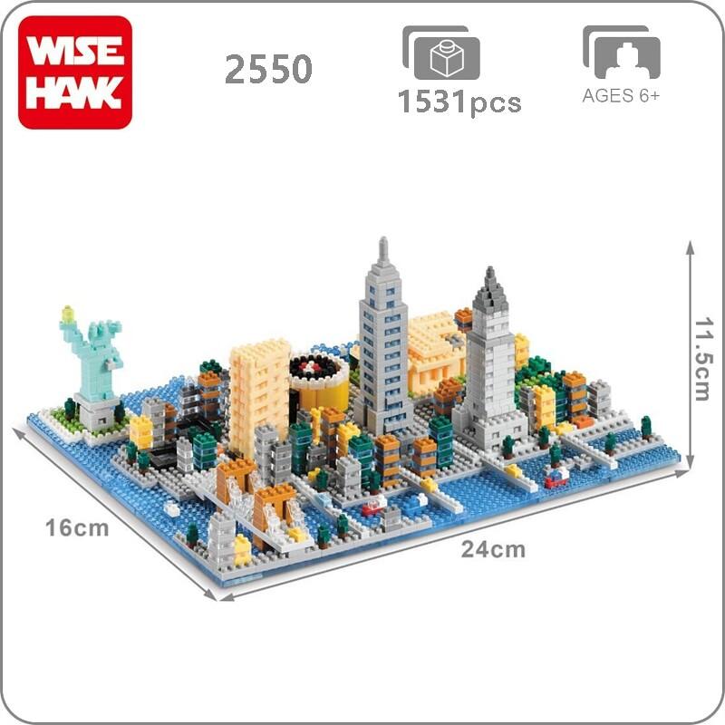 Wise Hawk 2550 Large New York City Mini