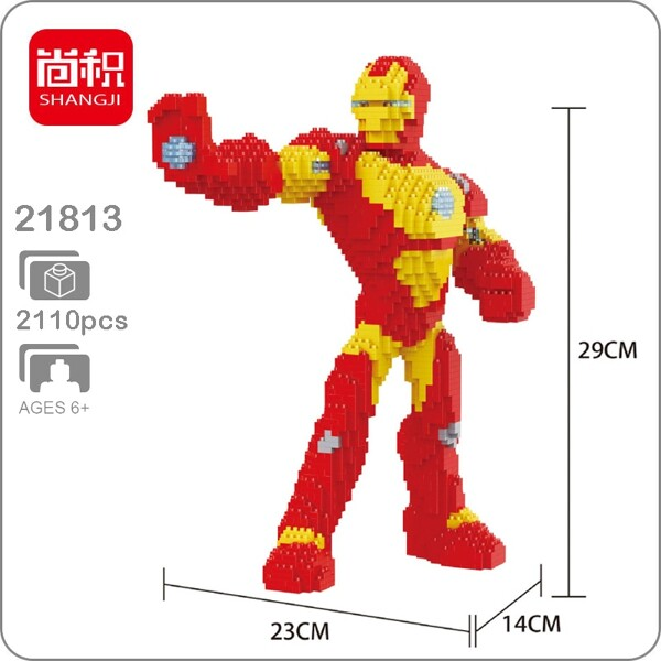 Balody 21811 Avengers Iron Man XL