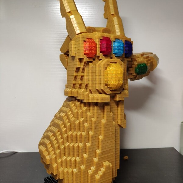 Balody 8831-8 Large Avengers Thanos Infinity Gauntlet
