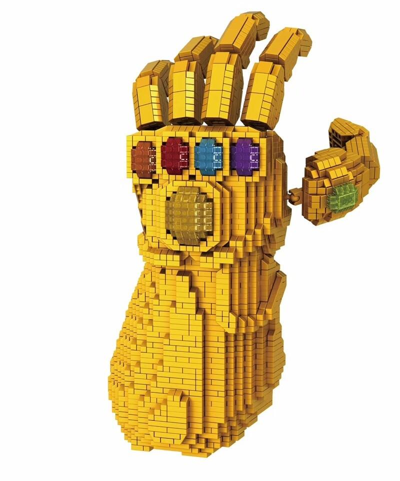 Balody 8831-8 Large Avengers Thanos Infinity Gauntlet