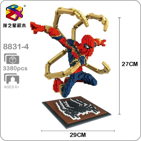 Balody 8831-4 Avengers Flying Spider Man XL