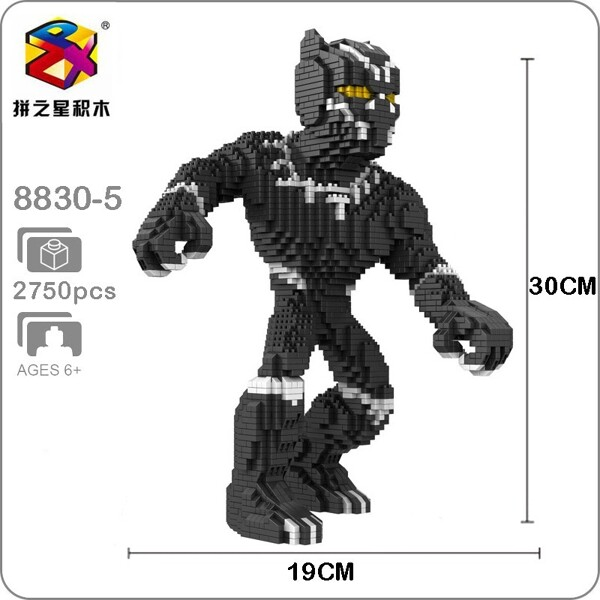 Balody 8830-5 Avengers Black Panther XL