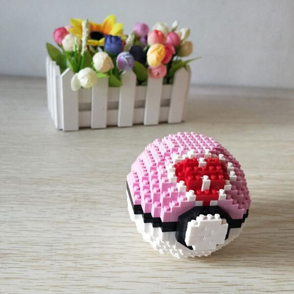 Balody 2536 Medium Pocket Monster Pink Ball