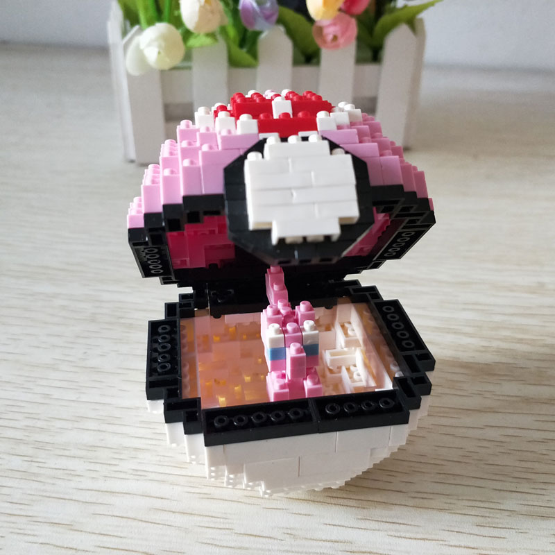 Wise Hawk 2536 Medium Pocket Monster Pink Ball