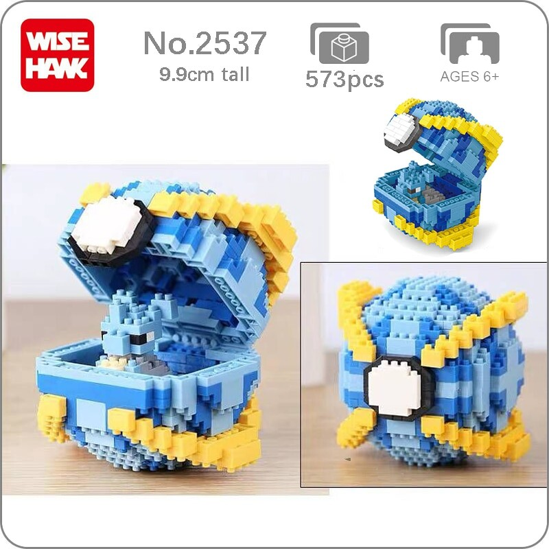 Wise Hawk 2537 Medium Pocket Monster Lapras Blue Beast Ball