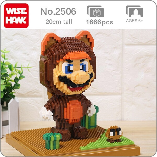 Wise Hawk 2506 Super Mario With Bear Suit XL