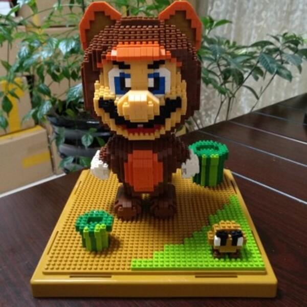 Balody 2506 Super Mario With Bear Suit XL