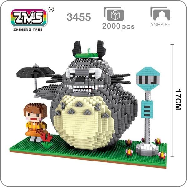 ZMS 3455 Large Black Totoro