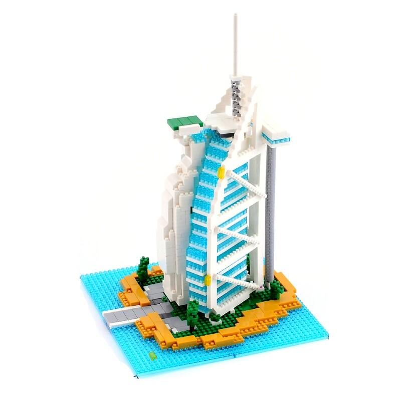 YZ 052 Large Burj Al Arab Hotel