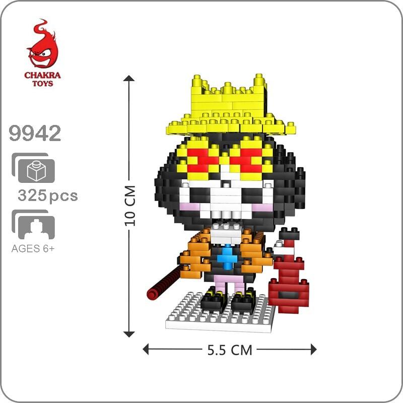 CHAKRA9942 Mini One Piece Brook