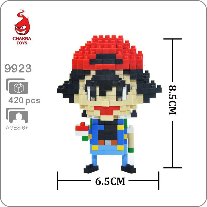 CHAKRA 9923 Mini Pokémon Ash Ketchum