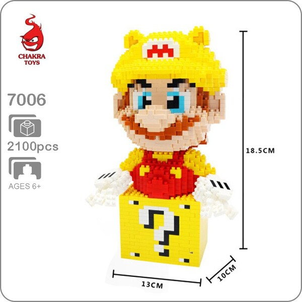 CHAKRA 7706 Golden Super Mario XL