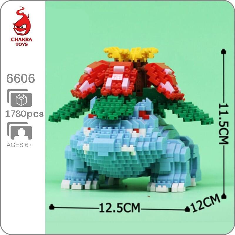 CHAKRA 6606 Medium Pokémon Venusaur