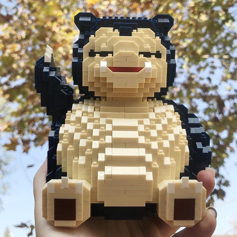 CHAKRA 6609 Medium Pokémon Snorlax Bear