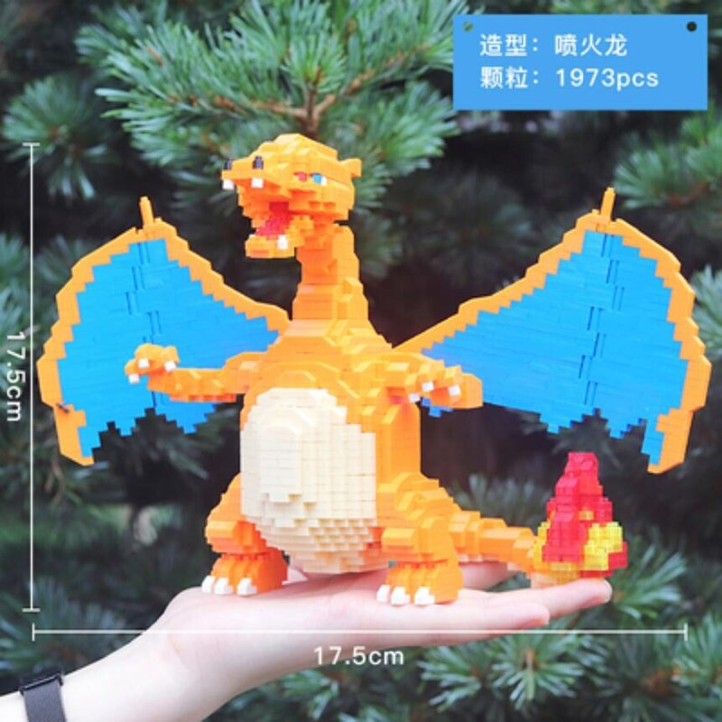 CHAKRA 6608 Large Pokémon Charizard Dragon
