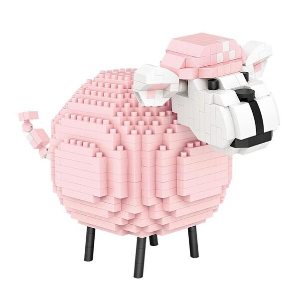 LOZ 9234 Pink Sheep Diamond Blocks