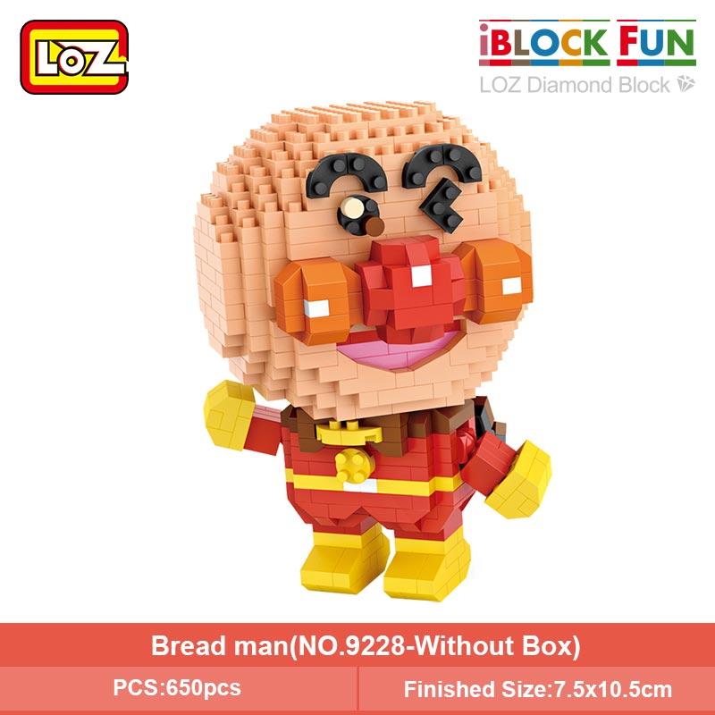 LOZ 9228 Anpanman Cartoon Character Mini Bricks