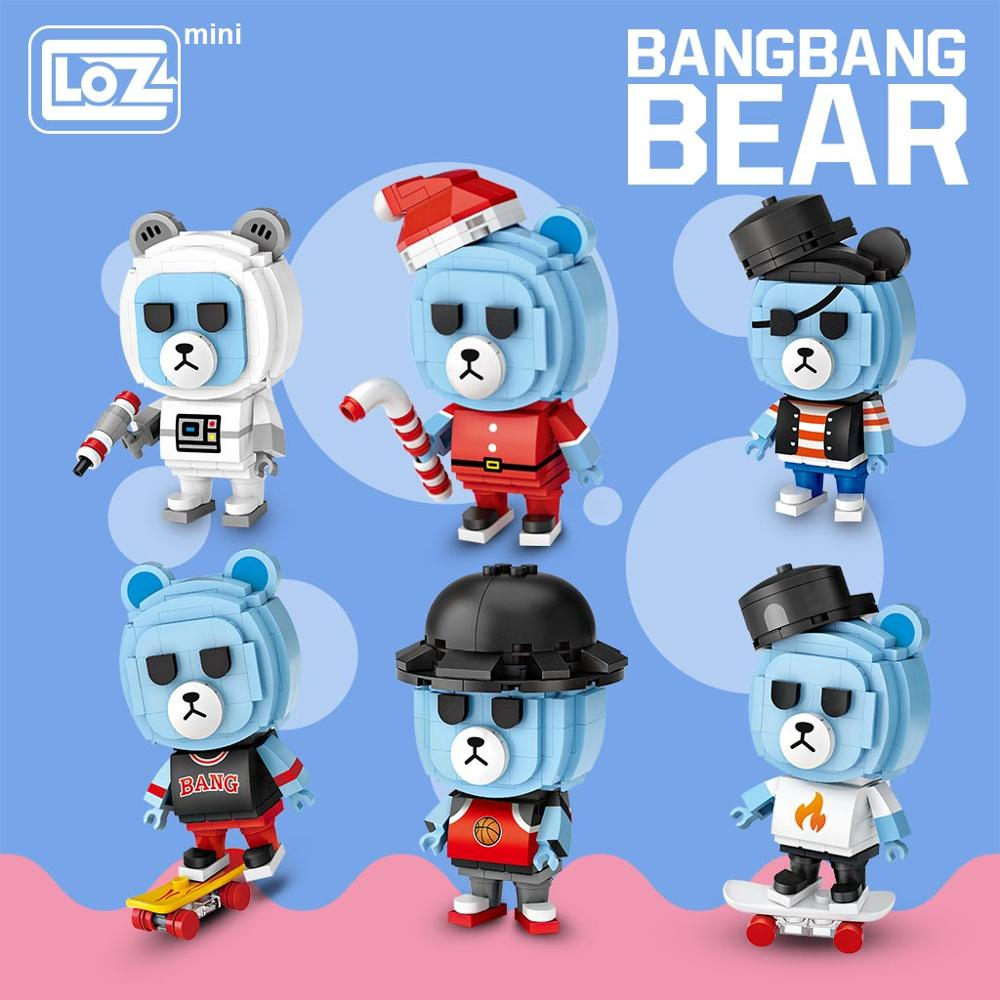 LOZ 1311 Blind Egg Box BangBang Bear Mini Blocks