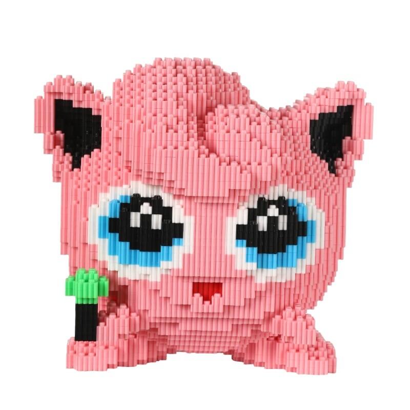 DUZ 8669 Jigglypuff Pocket Monster Mini Bricks