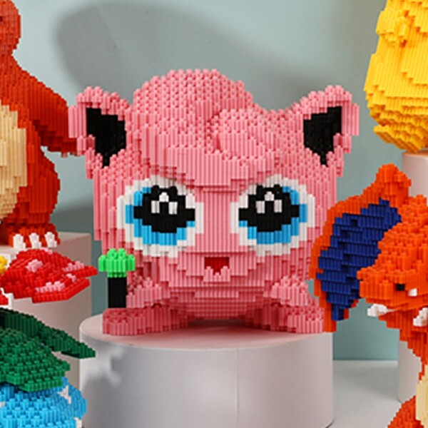 DUZ 8669 Jigglypuff Pocket Monster Mini Bricks